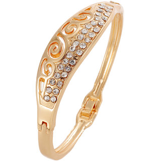 Shining Diva Non Plated Gold Charm Bracelets For Women-CFJ7237b