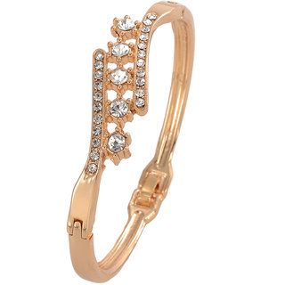 Shining Diva Non Plated Gold Charm Bracelets For Women-CFJ7238b