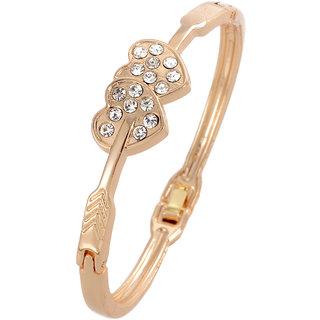Shining Diva Non Plated Gold Charm Bracelets For Women-CFJ7239b