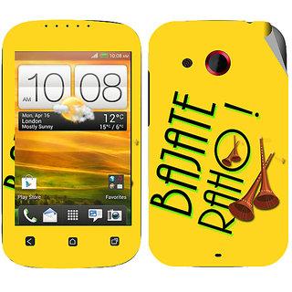 Snooky Digital Print Mobile Skin Sticker For HTC Desire C