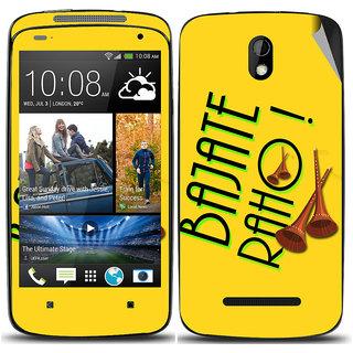 Snooky Digital Print Mobile Skin Sticker For HTC Desire 500
