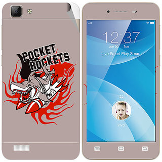 Snooky Digital Print Mobile Skin Sticker For vivo V1