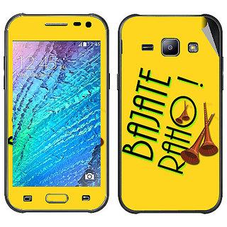 Snooky Digital Print Mobile Skin Sticker For Samsung Galaxy J2
