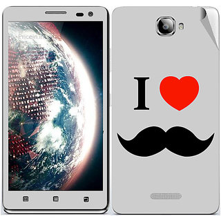 Snooky Digital Print Mobile Skin Sticker For Lenovo S856