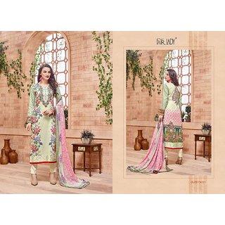 Elegant EmAroidery Cotton Salwar Kameez Readymade India