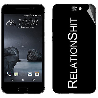 Snooky Digital Print Mobile Skin Sticker For HTC One A9