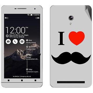 Snooky Digital Print Mobile Skin Sticker For Asus Zenfone 6