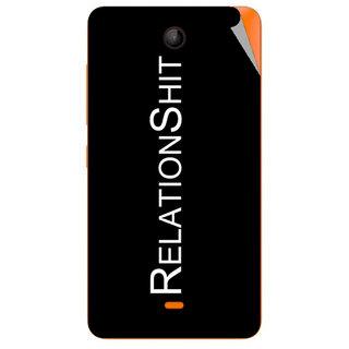 Snooky Digital Print Mobile Skin Sticker For Microsoft Lumia 430
