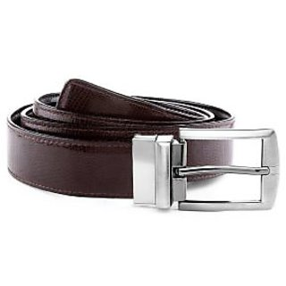 Rmn Brown  Black PU Leather Belt