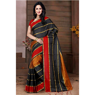 wama fashion latest design patta red saree