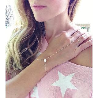 Shining Diva Non Plated Gold Charm Bracelets For Women-CFJ7321b