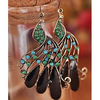 Shining Diva Non Plated Multi Dangle Earrings For Women-CFJ5337er