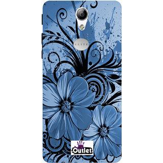 HI5OUTLET Premium Quality Printed Back Case Cover For Lyf Wind 5 Design Alpha 53