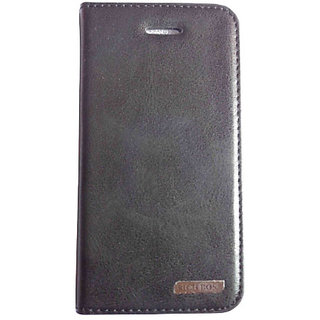separation shoes 5719d 20f3f KMS RICH BOSS Cover Case Back Diary Flip WITH STAND VIEW FOR 6 6G - Black
