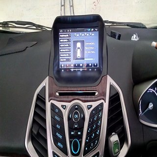 buy ford ecosport 8 inch android 4 4 touch screen. Black Bedroom Furniture Sets. Home Design Ideas