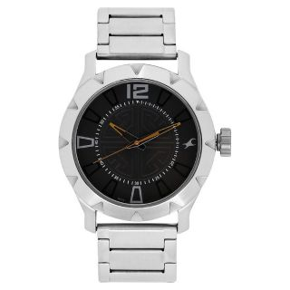 Fastrack Silver Strap Analog Watch For Men-3139SM01