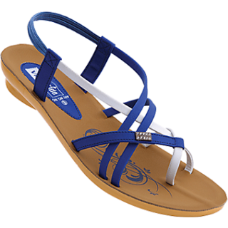 aaa16a0ef54e Buy VKC Pride Blue Sandals For Women-660 Online   ₹269 from ShopClues