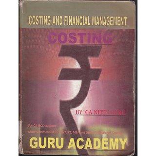 CA Nitin Guru Cost Accounting CA-IPCC