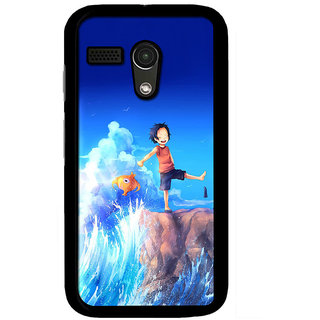 Instyler Digital Printed Back Cover For Moto G2