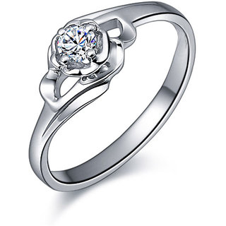 Diamond Ring In Yellow Gold - SAN27