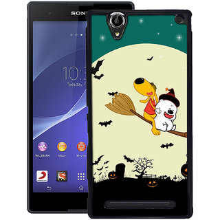 Instyler Digital Printed Back Cover For Sony Xperia T2