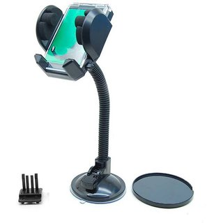 FASTOP Mobile holder cradle stand for MARUTI CAR BLACK