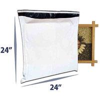 Plastic Envelopes - Size 24x24 - Pack of 100