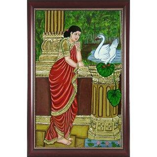 Damayanthi Tanjore Painting
