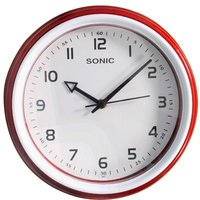 sonic round analog wall clock 461 assorted colors