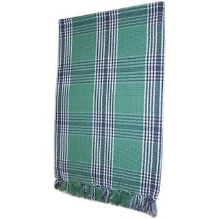 Tidy Cotton Bath Towel (Bath Towel 1 Piece, Green)