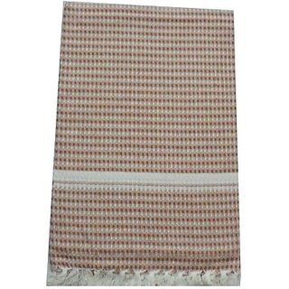 Tidy Cotton Bath Towel (Bath Towel 1 Piece, Brown)