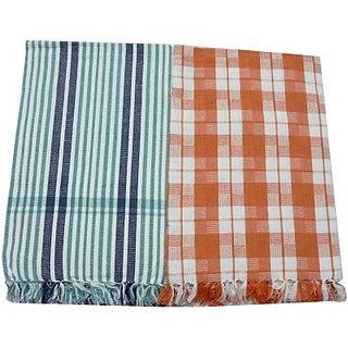 Tidy Cotton Bath Towel (Bath Towel 2Pcs, Multi)