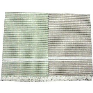 Tidy Cotton Bath Towel (Bath Towel 2Pcs, Multi Colour)