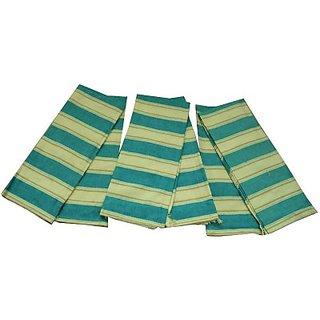 Tidy Cotton Multi-Purpose Towel (Towel 6Pcs, Yellow, Green)