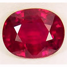Awesome 7.25 ratti Natural certified New Burma Ruby