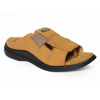 Red Chief Rust Men Casual Leather Slipper (RC0476L 022)