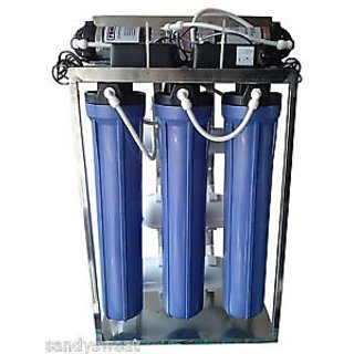 Commercial RO Plant 100 LPH Capacity Water Purifier System Commercial Ro Plant for school ,