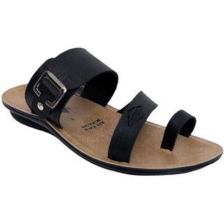 Wego Pk1827 MenS Black Slippers