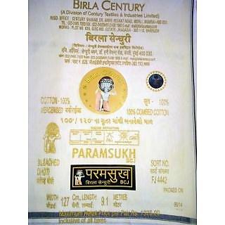 Century Paramsukh Dhoti 127 x 9.1 (100 Original)