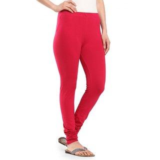 fb3afce5af7bf6 Buy Lyrics Red Colour Churidar Leggings Online - Get 46% Off
