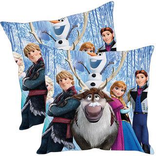Sleep NatureS Cartoon Printed Cushion Covers Pack Of 2