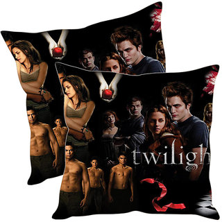 Sleep NatureS Twilight Printed Cushion Covers Pack Of 2
