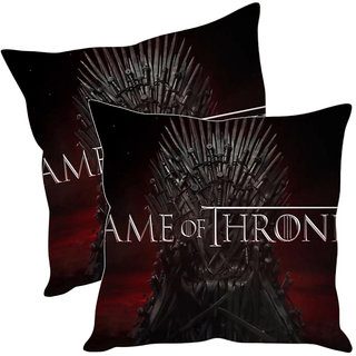 Sleep NatureS Game Of Thrones Printed Cushion Covers Pack Of 2