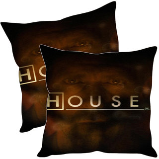 Sleep NatureS House Printed Cushion Covers Pack Of 2