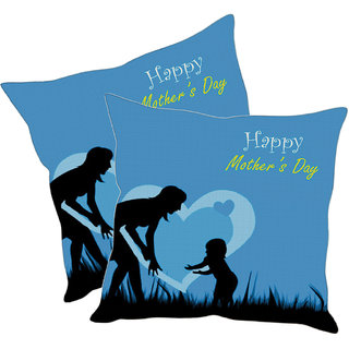 Sleep NatureS Happy MotherS Day Printed Cushion Covers Pack Of 2