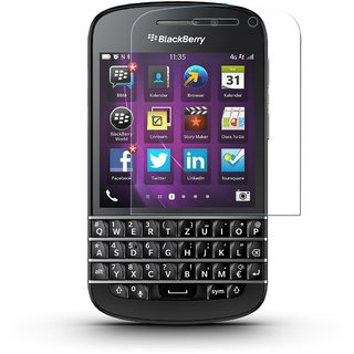 Premium Tempered Glass Screen Protector HD Quality For BlackBerry Q10