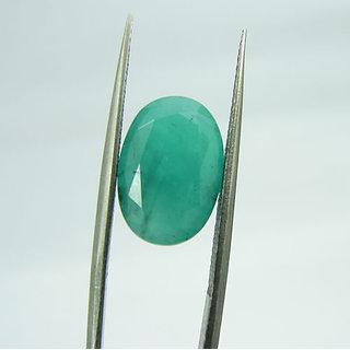 MANGLAM RAJ RATAN  5.5 Ct Natural Beautiful Emerald Panna Loose Birth/Astrological Gemstone EM40