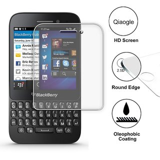 Premium Tempered Glass Screen Protector HD Quality For BlackBerry Q5