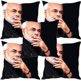 Sleep NatureS Modi Printed Cushion Covers Set Of Five