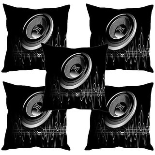 Sleep NatureS Speaker Printed Cushion Covers Set Of Five